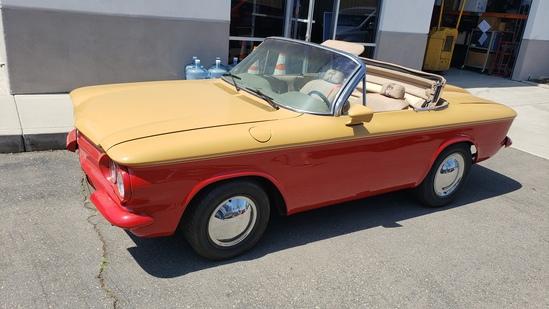 1964 Corvair Monza Convertible Tasmanian Devil