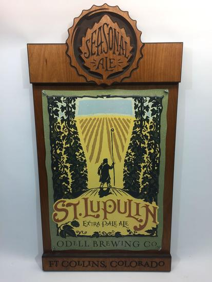 St. Lupulin Ft Collins Colorado Art Plaque 31x16in