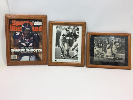 Framed NFL Football Memorabilia, Photos, Sports Illustrated