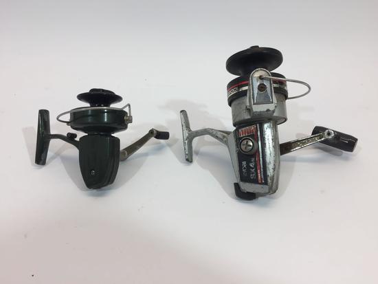 2 Fishing Reels - Ryobi SX4 N, Zebco XR11