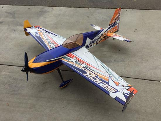 Extreme Flights Slick 580 Scale RC Airplane 58in Long, 60in Wingspan