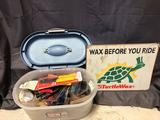Turtle Wax Sign and Miscellaneous Tools