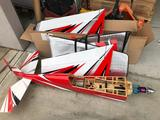 Edge 540 Scale RC Airplane Parts 70in Long, 74in Wingspan - Disassembled