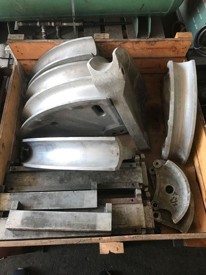 Greenlee 4 Inch Pipe Bending Plates
