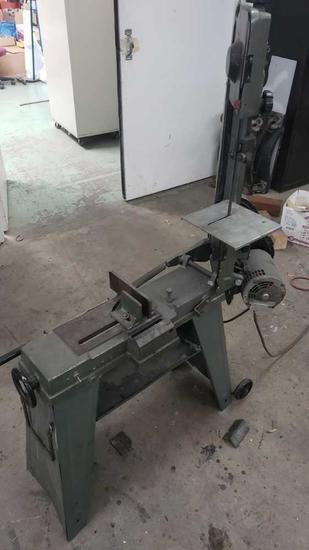 enco metal horizontal/vertical bandsaw 137-3154z