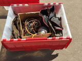 Bin of Car Parts, Electronics