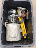 Binks Pressure Paint Sprayer, Miscellaneous