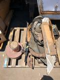 Pallet of Rolls Royce Engine Compartment Parts and Miscellaneous