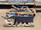 Pallet of Car Parts, Supplies and Tools