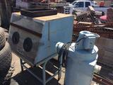 Linco Sand Blast Cabinet 5ft Tall. Untested May Not Work
