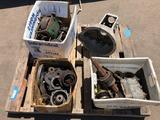 Chevrolet, Chrysler, Alpha Romeo Vintage and / or antique Transmission Parts gears etc.