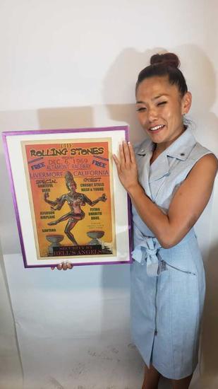rolling stones poster says dec 1969