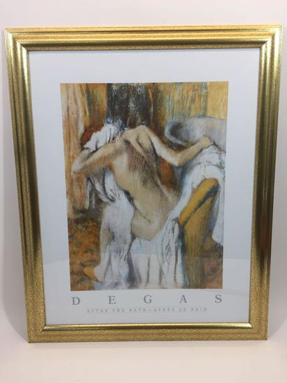 Framed Art 32x26in Degas Poster
