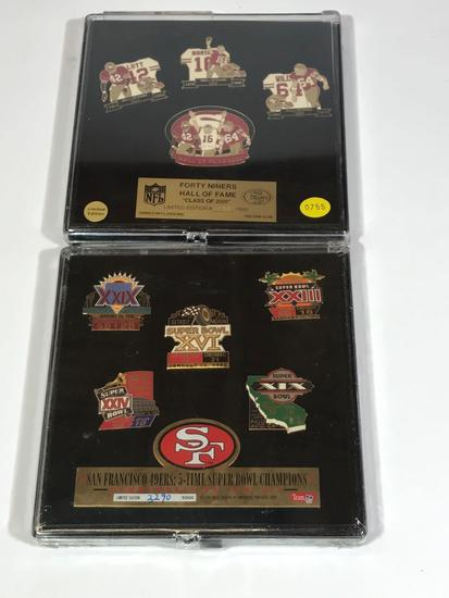 Pin Sets says San Francisco 49ers