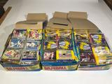 1989 Baseball Fleer Donruss Cards Unopened Packs 3 units