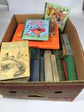 Box Full of Vintage Books