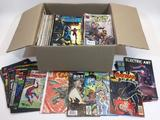 Box of 100+ Comic Books, DC, Marvel, Dell, Spider-Man, Batman, Green Lantern, Flash, X-Men, etc