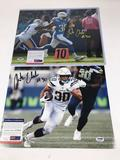 Austin Eleker Los Angeles Chargers Signed Photo 2 Units