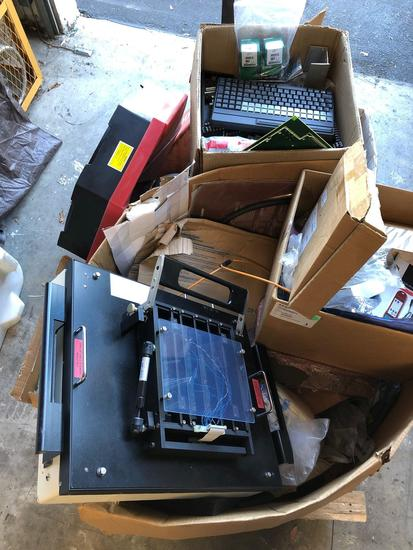 Pallet of Computer Components and Accessories