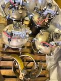 Binks Pressure Pots with Agitators, And Accessories, Expo Engineering Wrap-it-Heat Heaters