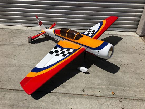 Large Balsa Wood RC Plane Complete Body
