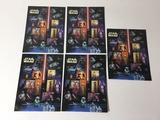 Lot of 5 Star Wars US Stamp Sheets, Each Sheet has 15 x $0.41 Cent Stamps