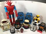 Lot of Toy Robots