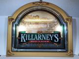 Killarnys Irish Pub Mirror 33in wide 30in tall