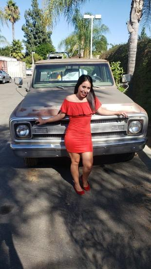 Chevrolet Custom 3/4 Ton 1969 Pickup Truck