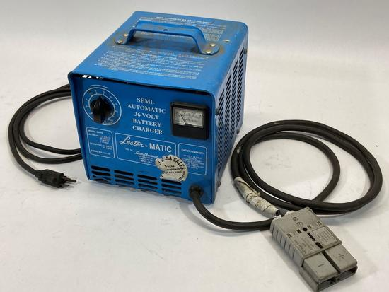 Lester-MATIC Semi-Automatic 36 Volt Battery Charger