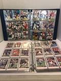 Binder Full of Football Cards 2 Units