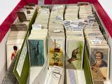 Box of Vintage Cigarette Cards