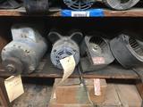 Shelf of 2 Motors 2 Blowers 4 Units