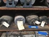 Shelf of 3 Phase Motors 4 Units