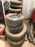 Lot of Small Tires