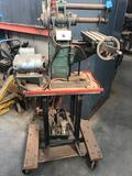 Benchmaster Milling Machine On Rolling Cart With Extra Blades