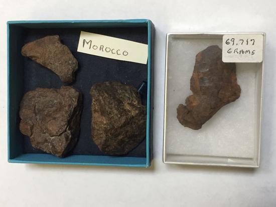 Meteorites, 179 Grams Total, Morocco
