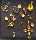 Lot of 15 Necklace Pendants