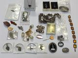 Lot of Costume Jewelry, Necklaces, Pins