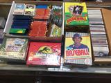 Loose & Unopened Baseball Cards, Topps, Fleer, Batman Cards, Disney Cards, etc