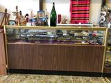Glass and Wood Display Case, 3ft Tall, 6ft Wide, Contents Not Included