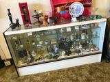 Wood & Glass Display Case, 3.5ft Tall, 6ft Wide