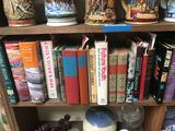 Shelf of Vintage Books 41 Units