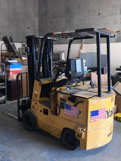 yale electeic forklift bad batteries