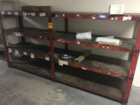 Large Metal Shelving