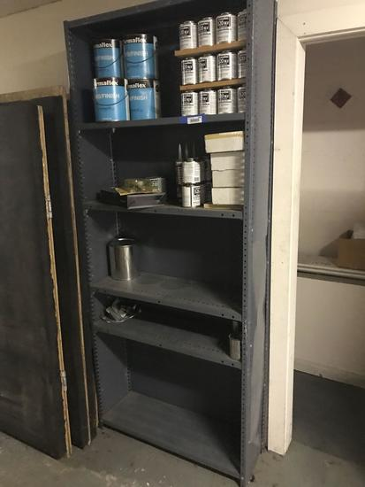 Metal Shelving Adjustable Shelves With Contents