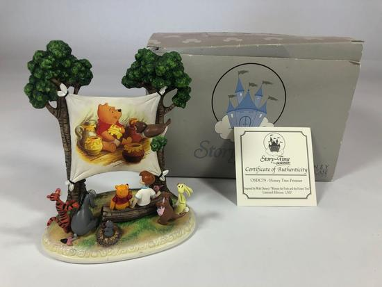 Winnie The Pooh Honey Tree Premier Limited Edition Sculpture OSDC79 w/ CoA 2005 Disney Showcase