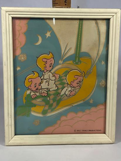 Wykin Blynkin & Nod Framed Disney