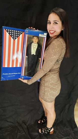 President Ronald Reagan Limited Numbered Edition Doll