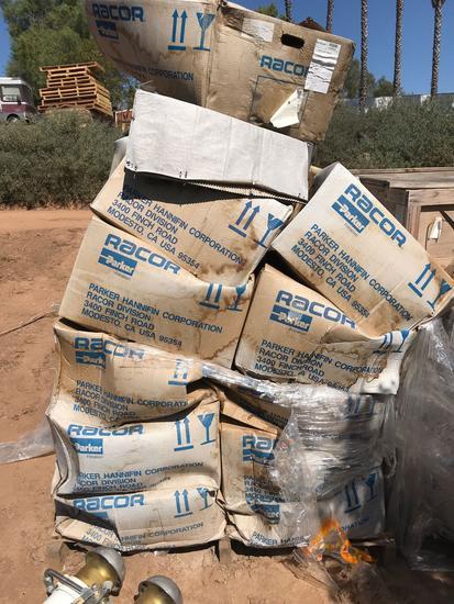 Pallet full of Unused Fuel Filter Water Separator